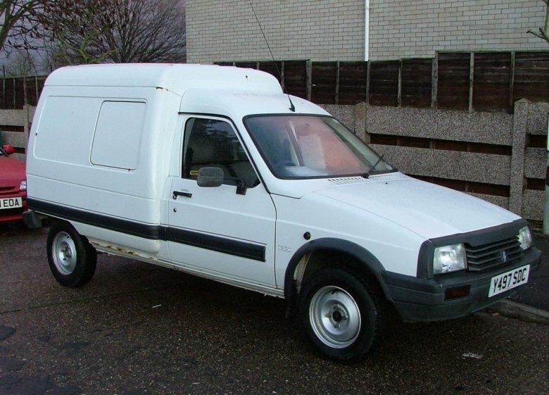For Sale  2001 Citroen C15 Van 1 9 Diesel In White